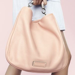 Marc by Marc Jacobs Peach Leather Hobo Bag!